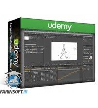 آموزش Udemy Learn Traditional Animation Stop Motion Photoshop and AE