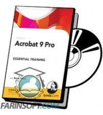 آموزش Lynda Acrobat 9 Pro Creating Multimedia Projects