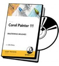 آموزش Lynda Corel Painter 11Mastering Brushes