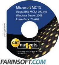 آموزش CBT Nuggets Exam Pack 70-648 Upgrading Your MCSA 2003 to Server 2008 MCTS