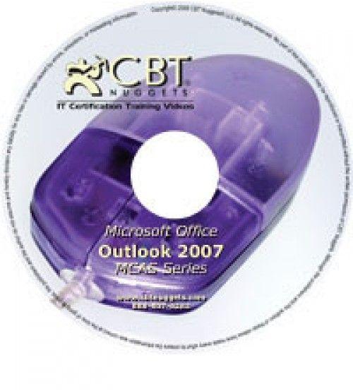 آموزش CBT Nuggets Outlook 2007 MCAS 77-605