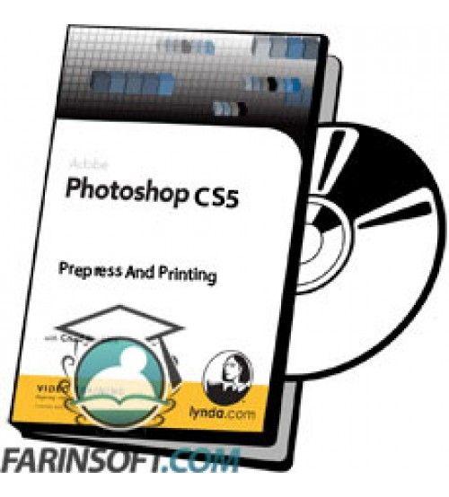 آموزش Lynda Photoshop CS5 Prepress And Printing