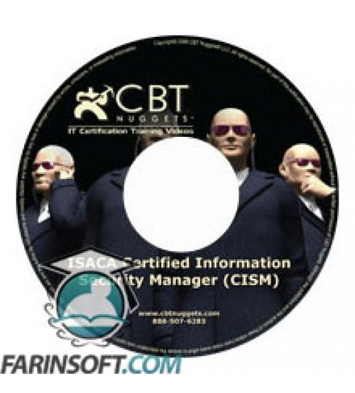 آموزش CBT Nuggets CISM Certification Series