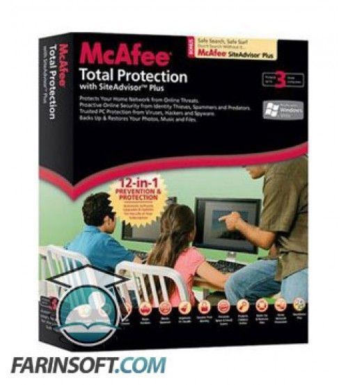 نرم افزار MCAfee Management Solution 2010 ترکیب برنامه های Anti-Virus و Anti-Spyware ، فایروال و سیستم جلوگیری از نفوذ به صورت یکپارچه
