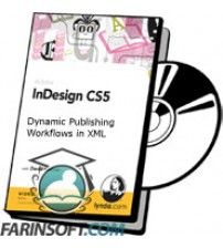 آموزش Lynda InDesign CS5 Dynamic Publishing Workflows in XML