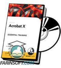 آموزش Lynda Adobe Acrobat X Pro: Essentials