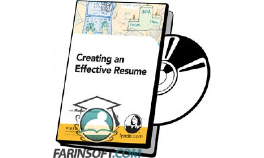 آموزش lynda creating an effective resume فرین سافت