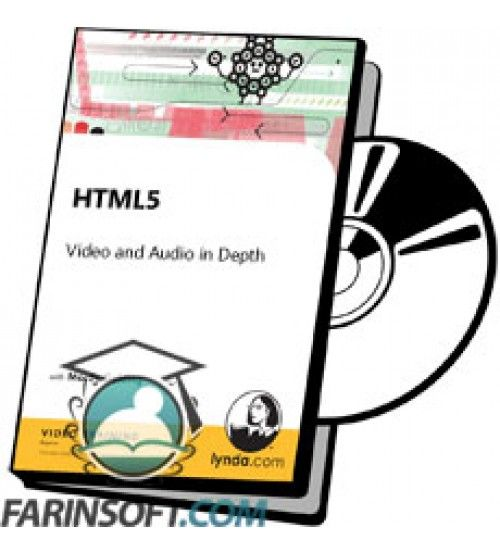 آموزش Lynda HTML5 Video and Audio in Depth