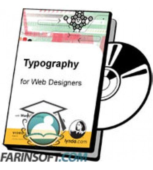 آموزش Lynda Typography for Web Designers