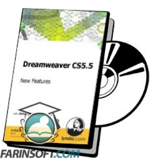 آموزش Lynda Dreamweaver CS5.5 New Features