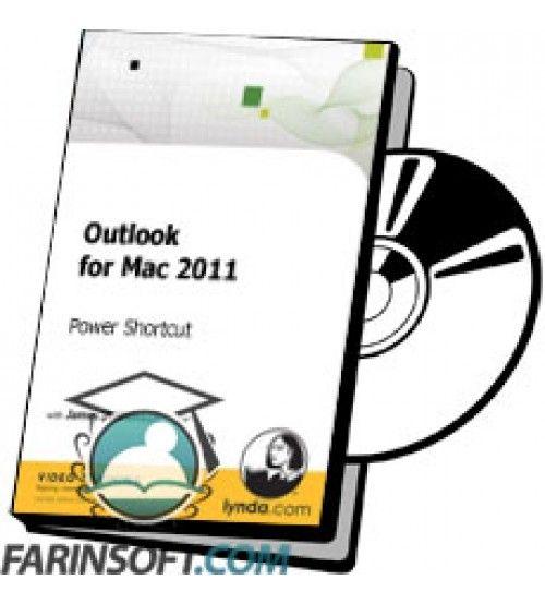 آموزش Lynda Outlook for Mac 2011 - Power Shortcut