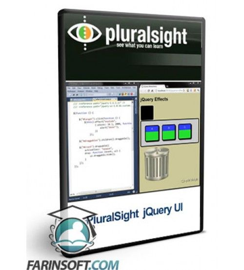 آموزش PluralSight PluralSight jQuery UI