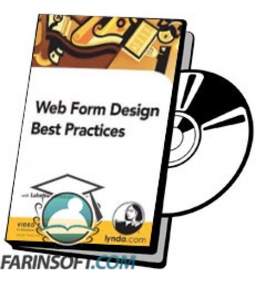 آموزش Lynda Web Form Design Best Practices