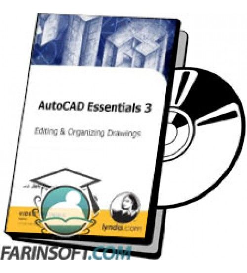 آموزش Lynda AutoCAD Essentials 3 Editing and Organizing Drawings
