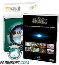 مجموعه ای از افکت ها ، Transition ها و پلاگین های مختلف ویدیویی محصول شرکت ProDAD شامل Adorage 13 و Vita Scene 2 قابل استفاده در اکثر نرم افزارهای ادیت ویدیو
