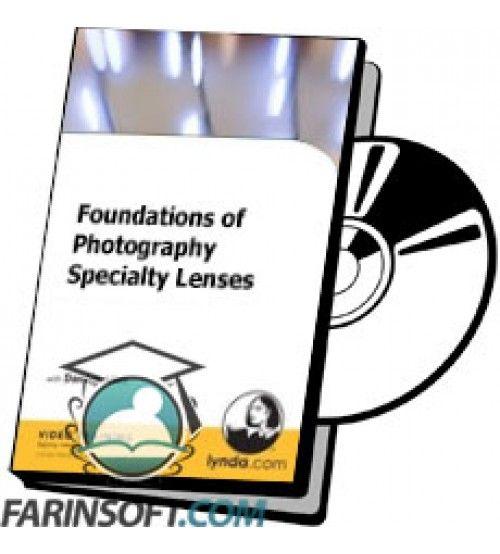 آموزش Lynda Foundations of Photography Specialty Lenses