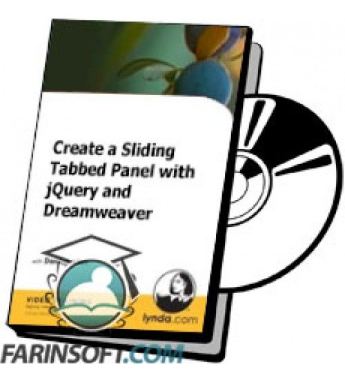 آموزش Lynda Create a Sliding Tabbed Panel with jQuery and Dreamweaver