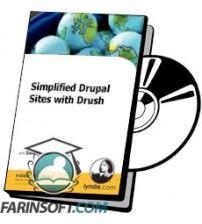 آموزش Lynda Simplified Drupal Sites with Drush