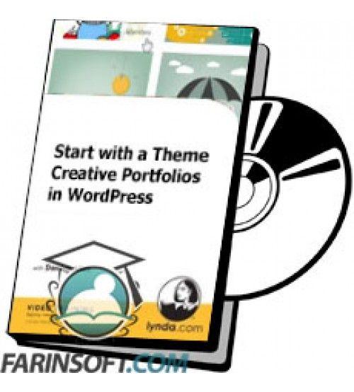 آموزش Lynda Start with a Theme Creative Portfolios in WordPress