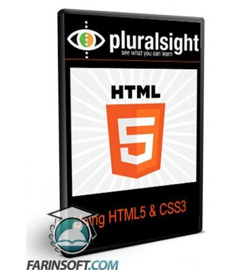 آموزش PluralSight Using HTML5 and CSS3