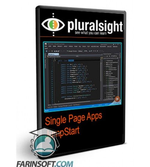 آموزش PluralSight Single Page Apps JumpStart