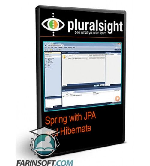 آموزش PluralSight Spring with JPA and Hibernate