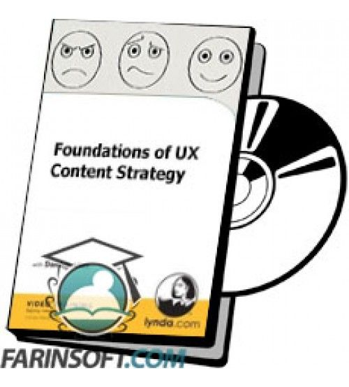 آموزش Lynda Foundations of UX Content Strategy