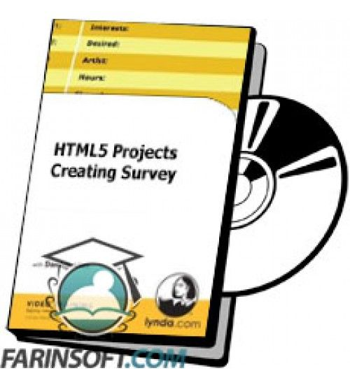 آموزش Lynda HTML5 Projects Creating Survey