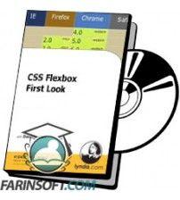 آموزش Lynda CSS Flexbox First Look