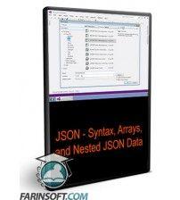 آموزش  JSON - Syntax, Arrays, and Nested JSON Data