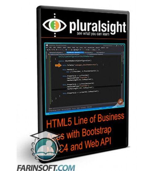 آموزش PluralSight HTML5 Line of Business Apps with Bootstrap MVC4 and Web API