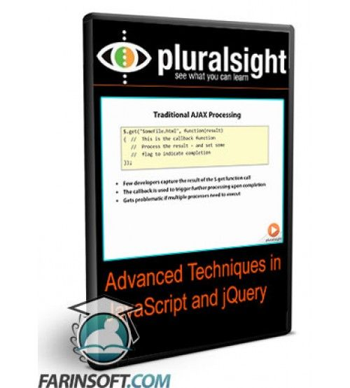 آموزش PluralSight Advanced Techniques in JavaScript and jQuery