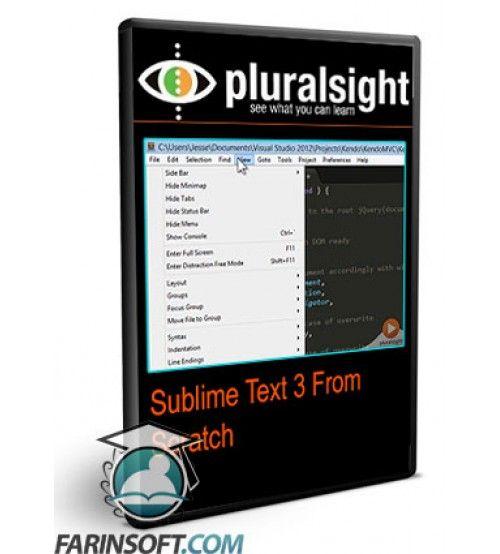 آموزش PluralSight Sublime Text 3 From Scratch