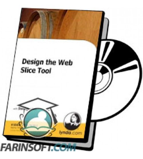آموزش Lynda Design the Web Slice Tool