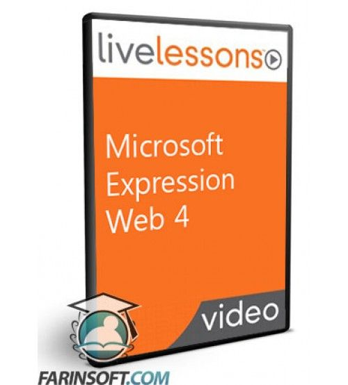 آموزش Live Lessons Microsoft Expression Web 4
