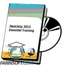 آموزش Lynda SketchUp 2013 Essential Training