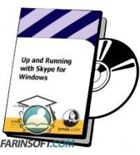 آموزش Lynda Up and Running with Skype for Windows