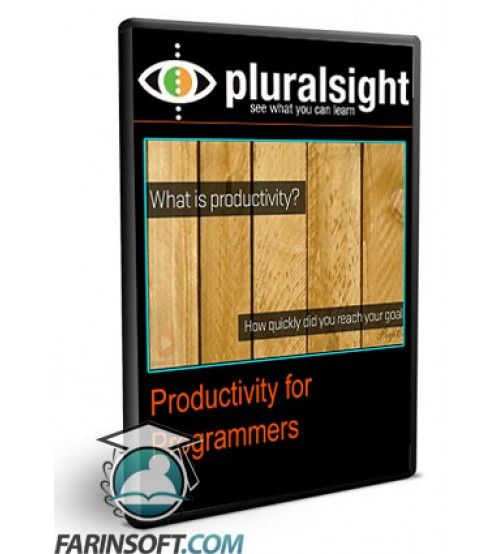 آموزش PluralSight Productivity for Programmers