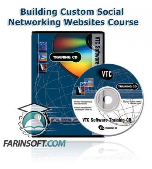 آموزش VTC Building Custom Social Networking Websites Course