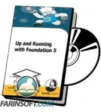 آموزش Lynda Up and Running with Foundation 5