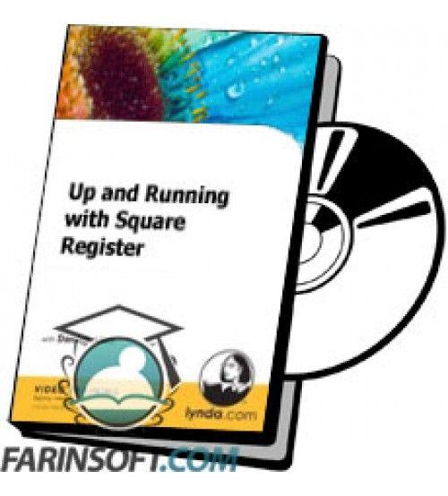 آموزش Lynda Up and Running with Square Register