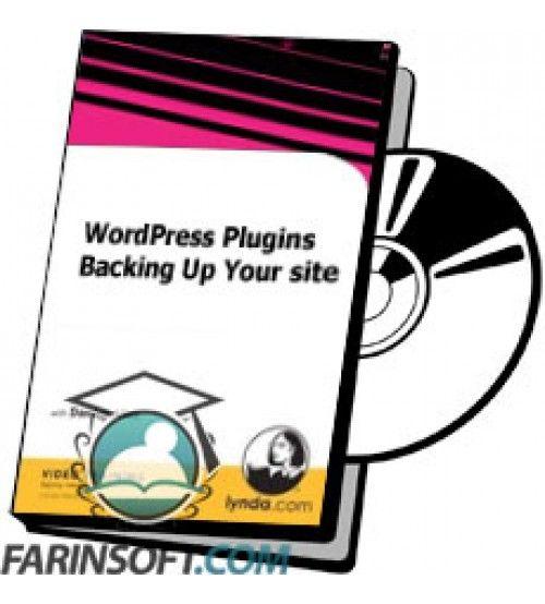 آموزش Lynda WordPress Plugins Backing Up Your site