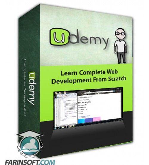 آموزش Udemy Learn Complete Web Development From Scratch