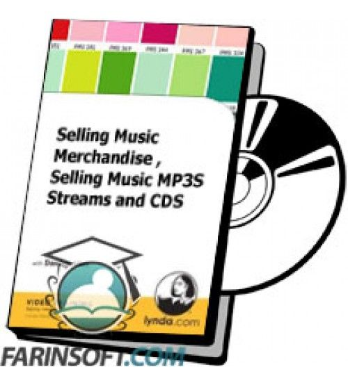 آموزش Lynda Selling Music Merchandise , Selling Music MP3S Streams and CDS