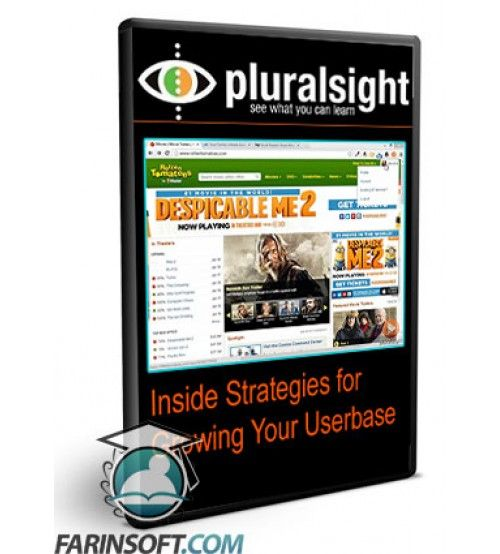 آموزش PluralSight Inside Strategies for Growing Your Userbase