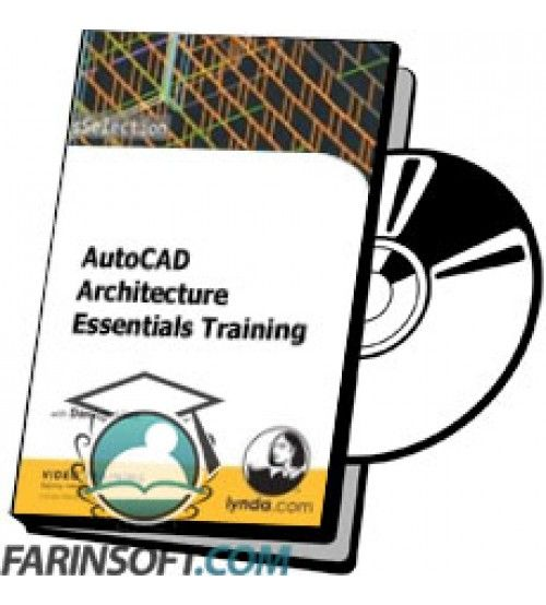 آموزش Lynda AutoCAD Architecture Essentials Training