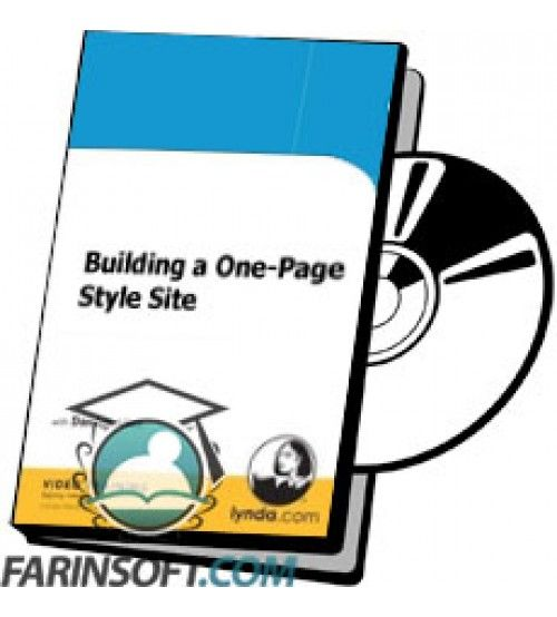 آموزش Lynda Building a One-Page Style Site