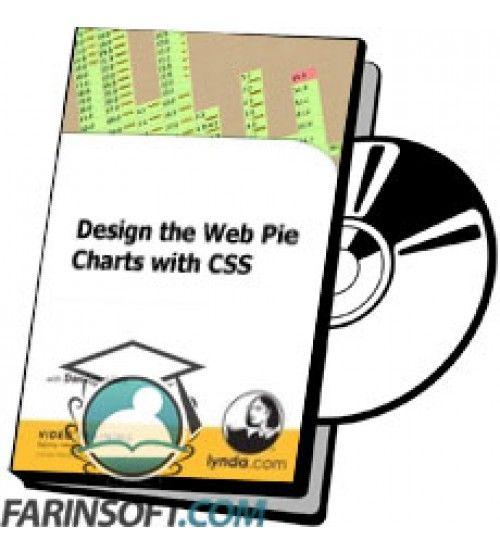 آموزش Lynda Design the Web Pie Charts with CSS