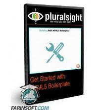 دانلود آموزش PluralSight Get Started with HTML5 Boilerplate