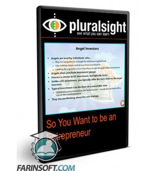 آموزش PluralSight So You Want to be an Entrepreneur